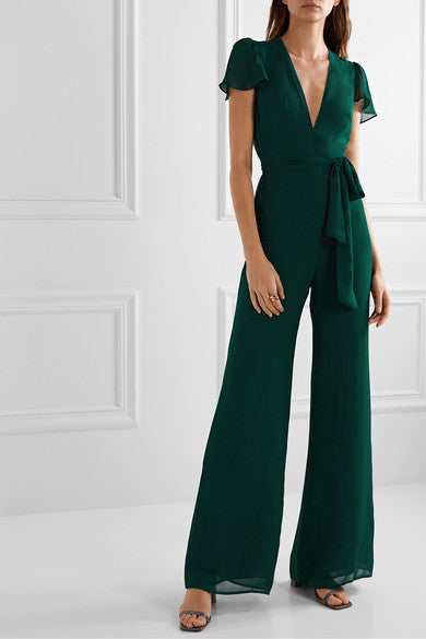 Anaya Belted Summercool Jumpsuit