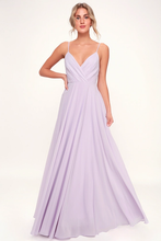 All About Love Lavender Maxi Dress