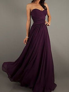 Purple Tube Drape Maxi Dress
