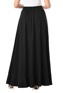 Black Skirt Pant Bottoms