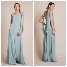 Mint Green Tie Up Maxi Dress