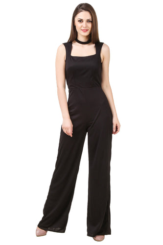 Black Choker Jumpsuit
