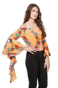 Printed Flared Top
