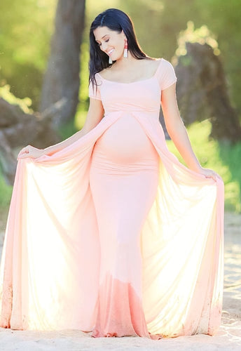Sweetheart Gown with Trail