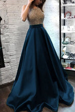 Ballroom Dull Sequins Gown