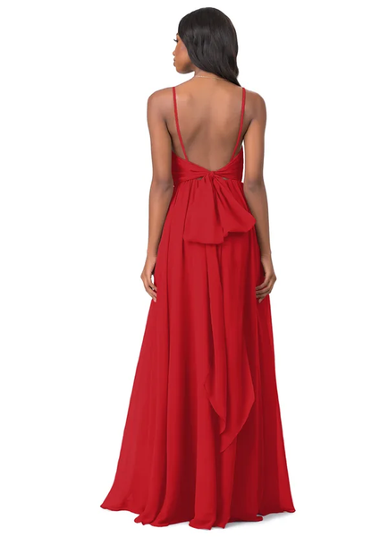 Anitra Backless Tie knot Bridesmaid Dresses