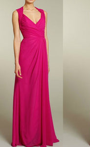 Hot Pink Long Maxi Dress
