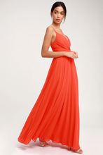All About Love Orange Maxi Dress