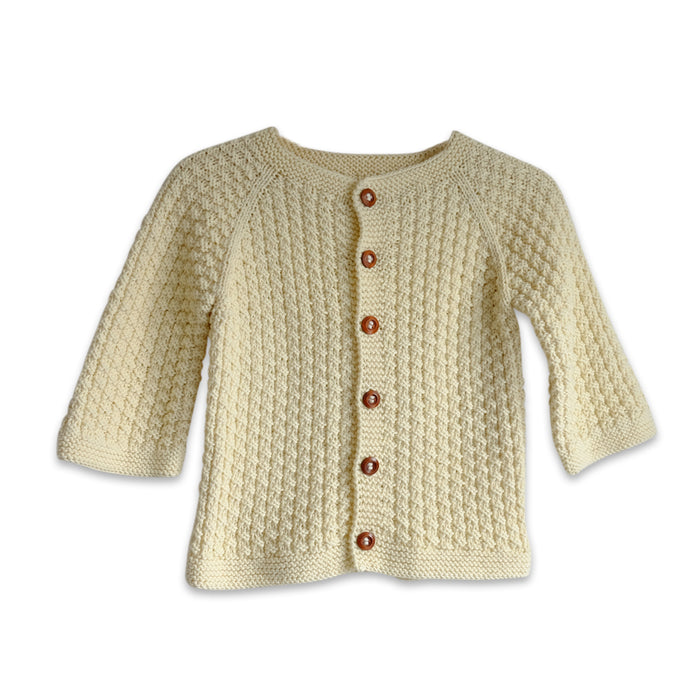 CASH CARDIGAN - STRIK - GOTS - CREME