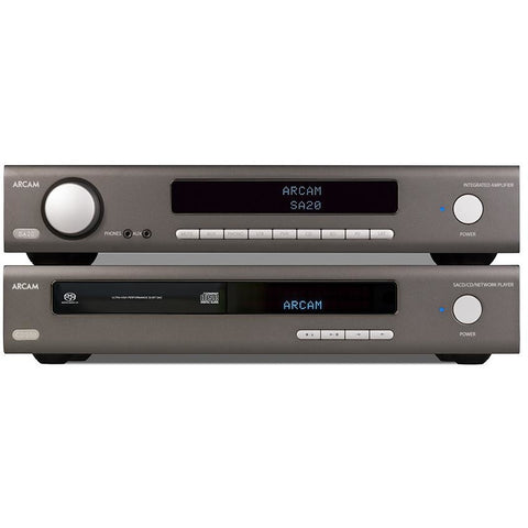 ARCAM SDS 50 and ST 20 CD and Integrated Amplifier Bundle