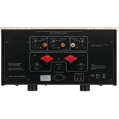 Hegel H30 - 350w Stereo / 1100w Monoblock – Audio Connection