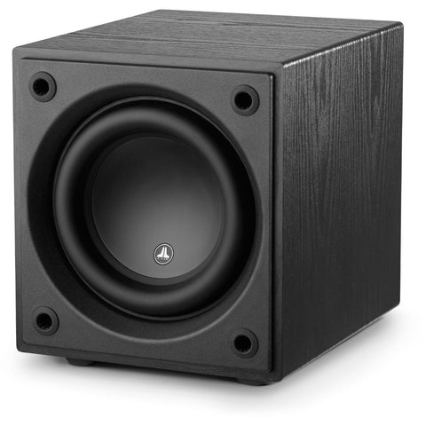 JL Audio d108 Subwoofer Black Ash