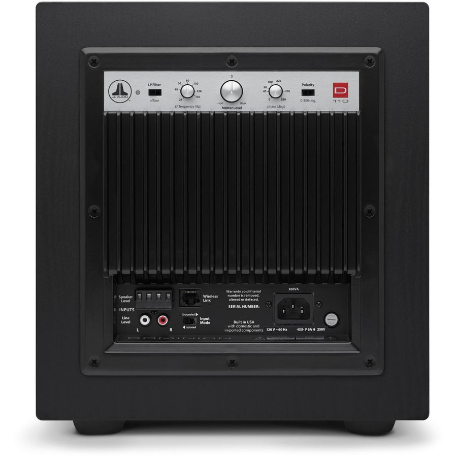 JL Audio d110 Subwoofer Black Ash