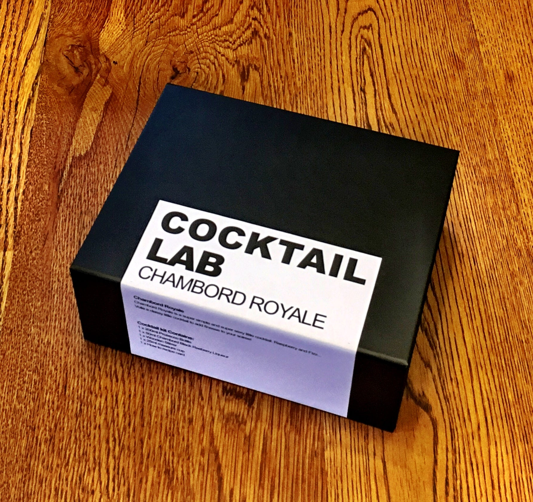 Chambord Royale Cocktail Kit Gift Box