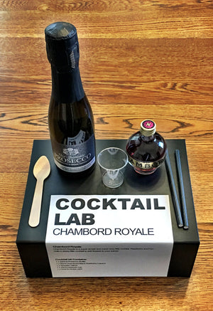 Chambord Royale Cocktail Gift Box kit
