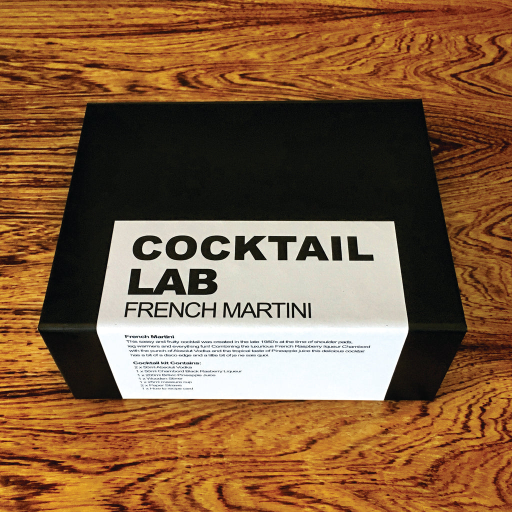 French Martini Cocktail Gift Box