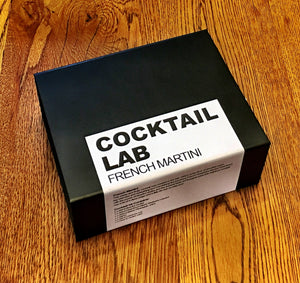 French Martini Cocktail Kit Gift Box