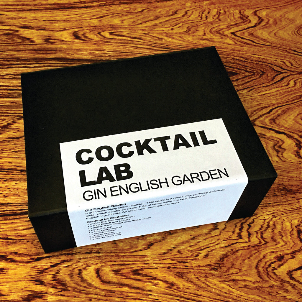 English Gin Garden Cocktail Gift Box
