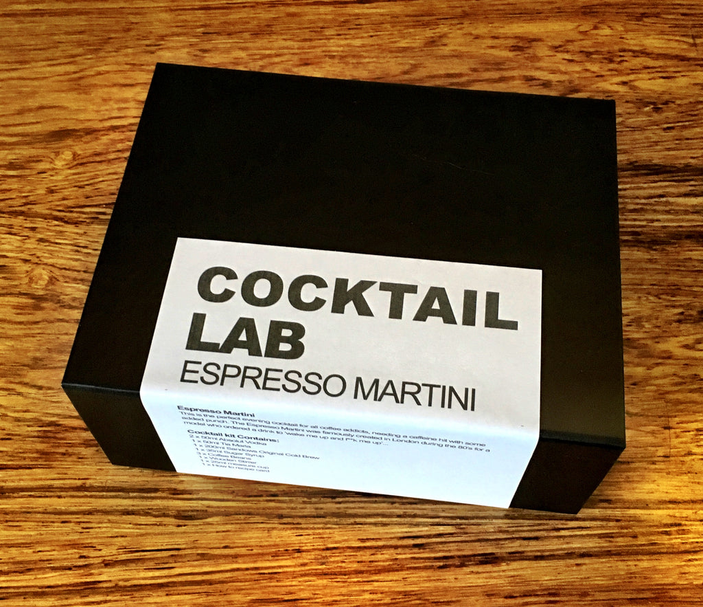 espresso martini cocktail gift box
