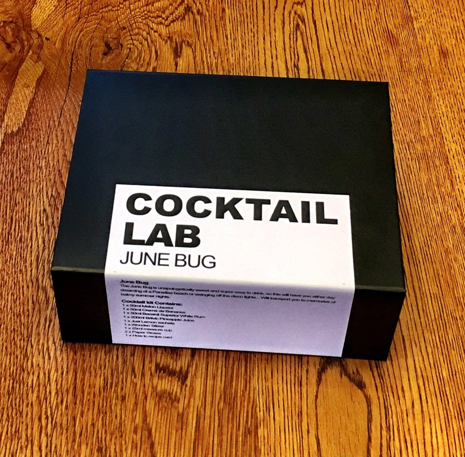 June Bug Cocktail Kit Gift Box