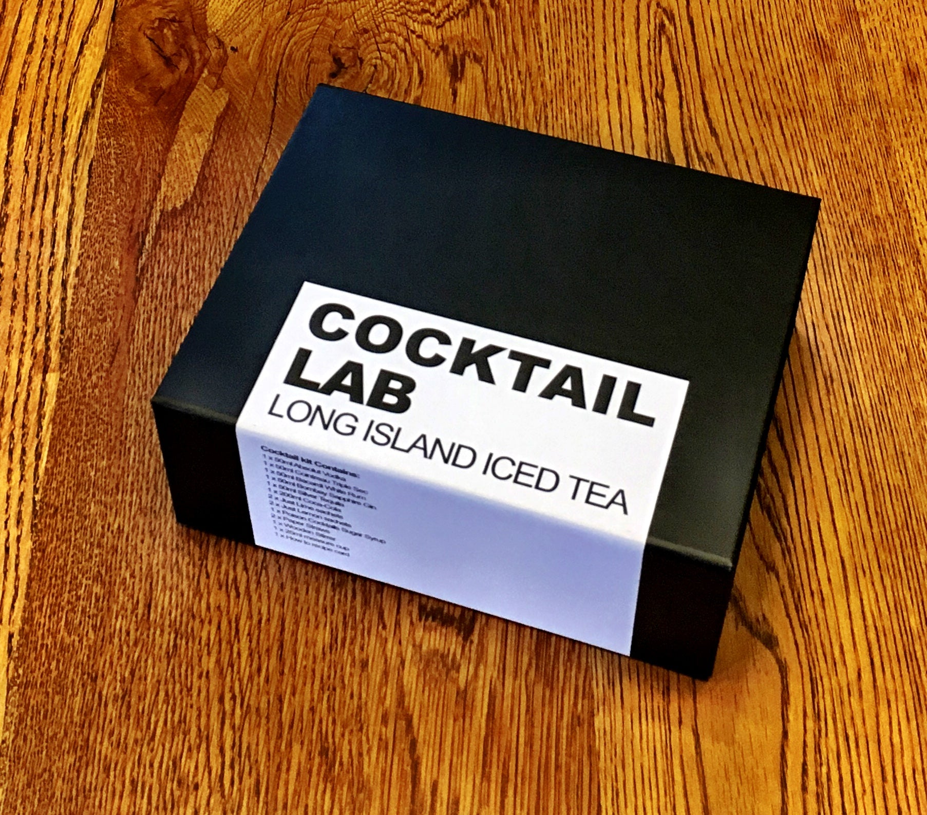 Long Island iced Tea Gift Box Kit