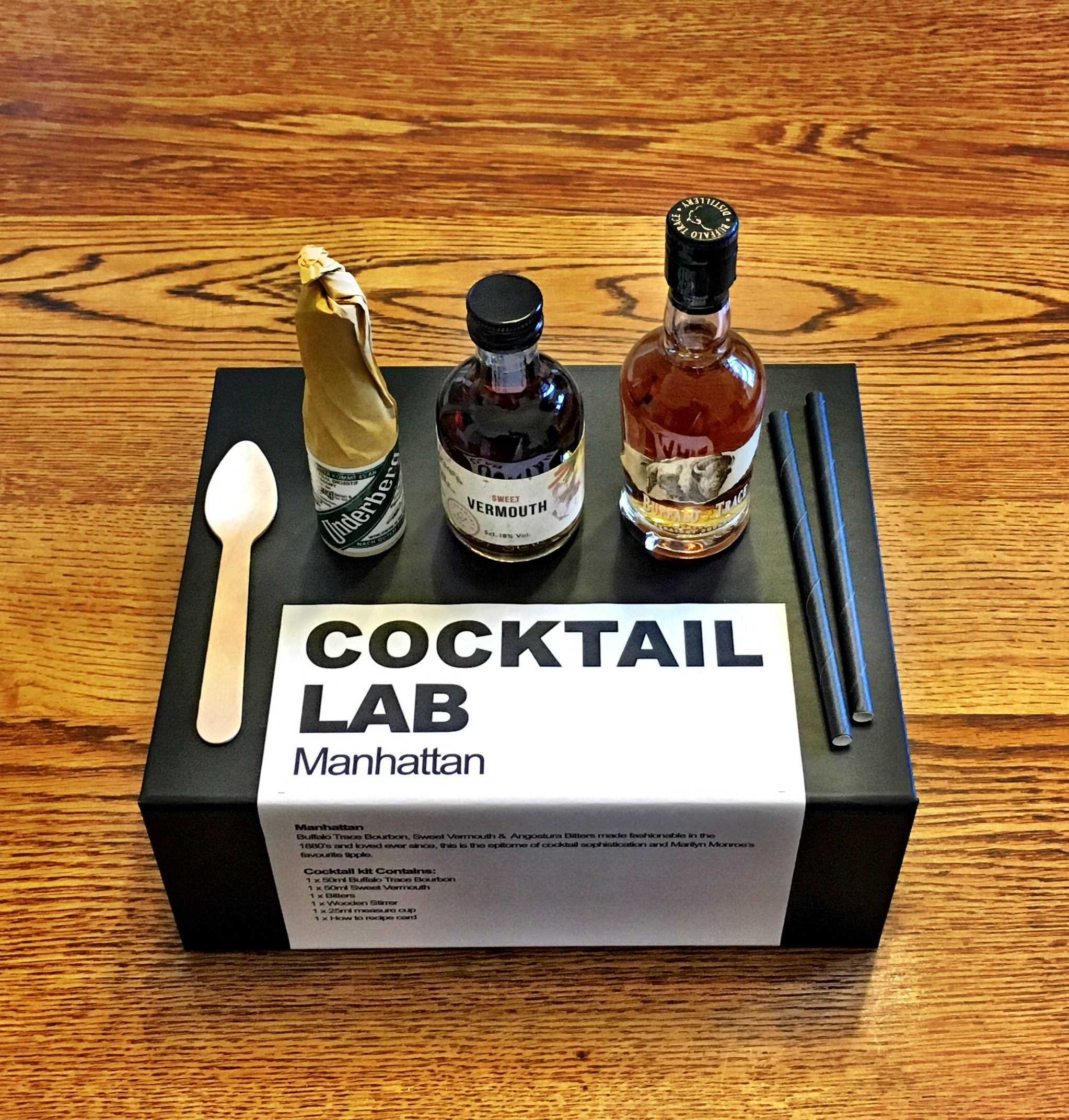 manhattan cocktail kit