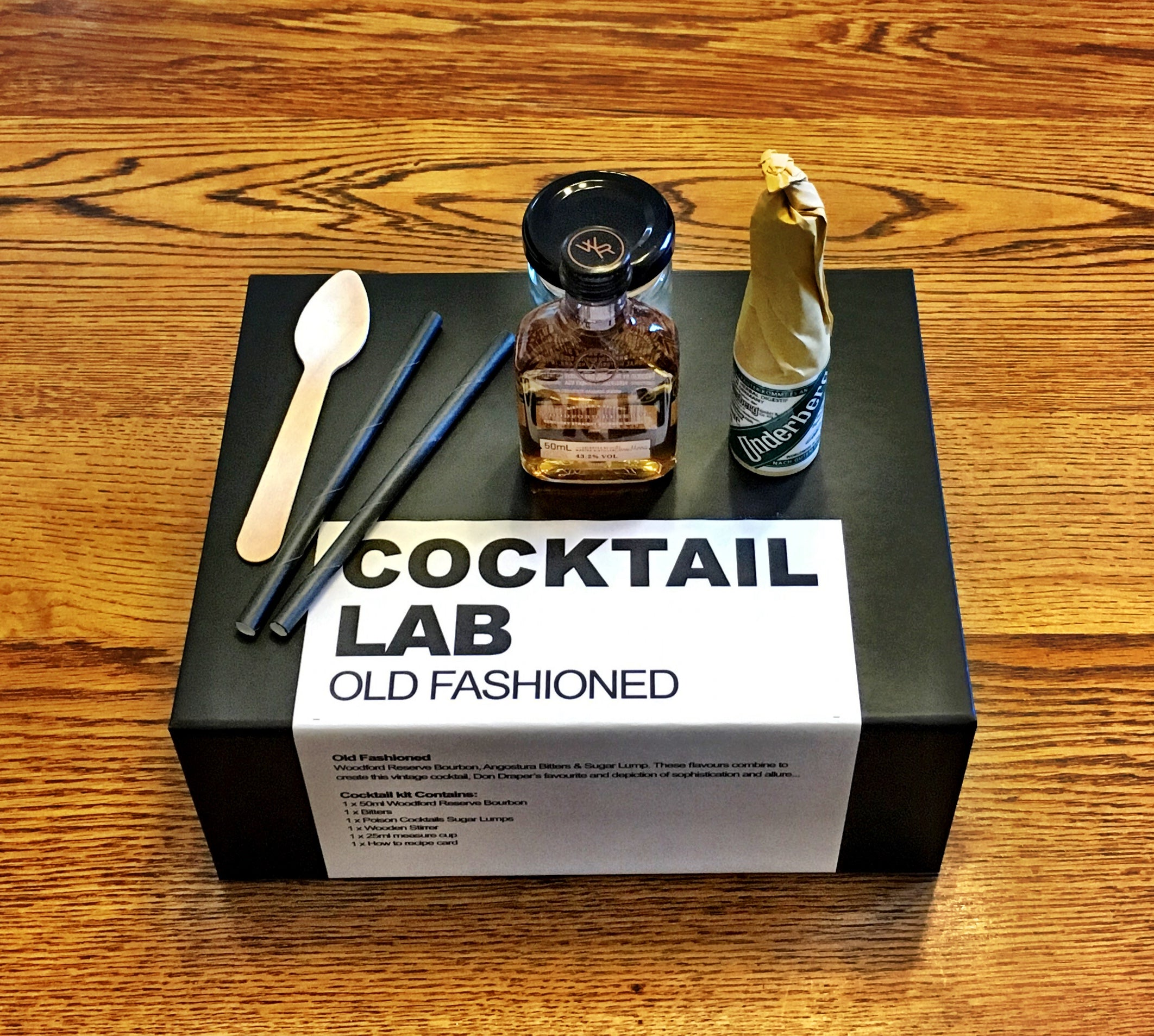 Old Fashioned Cocktail kit Gift Box