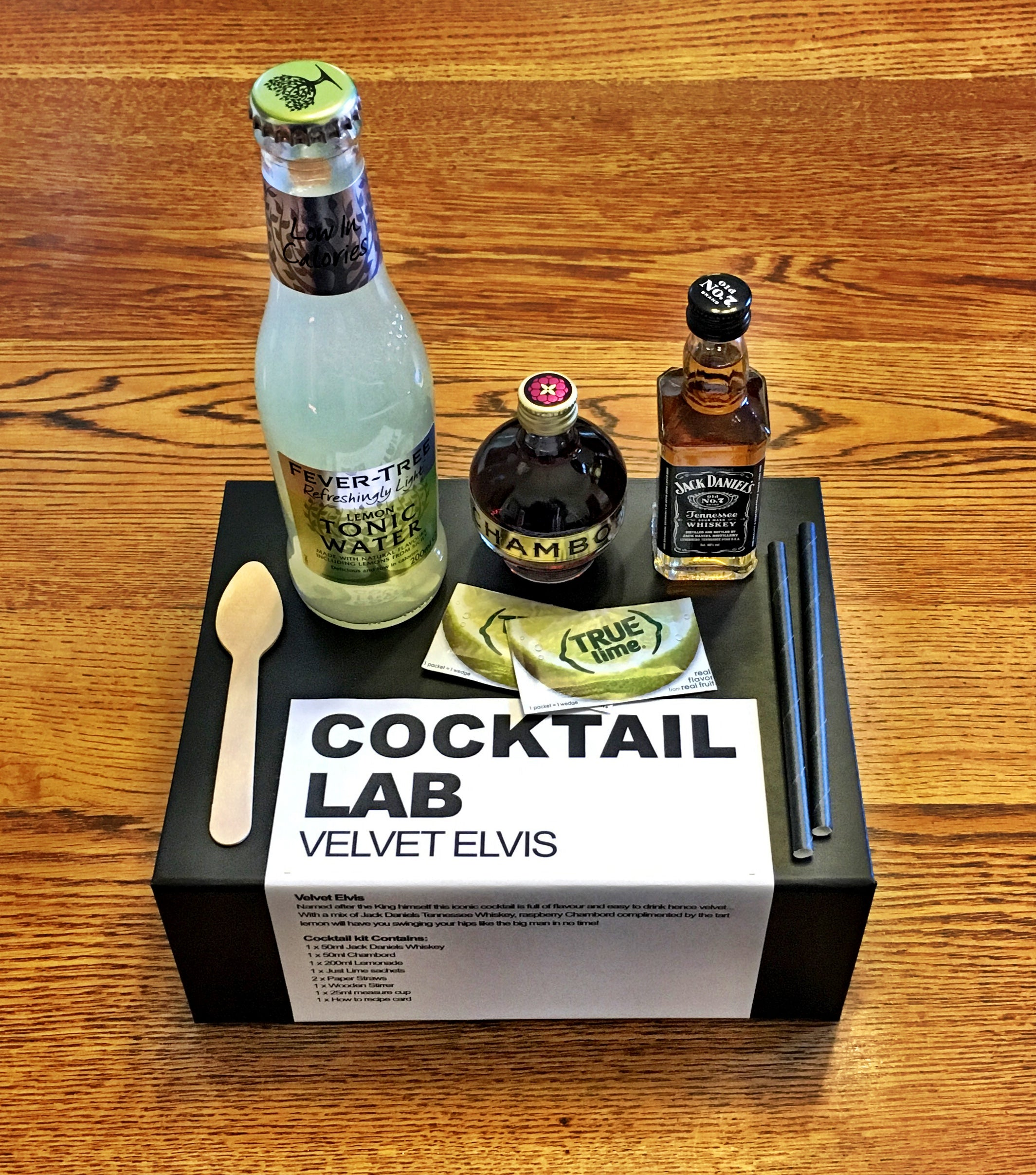 Velvet Elvis Cocktail Kit Box