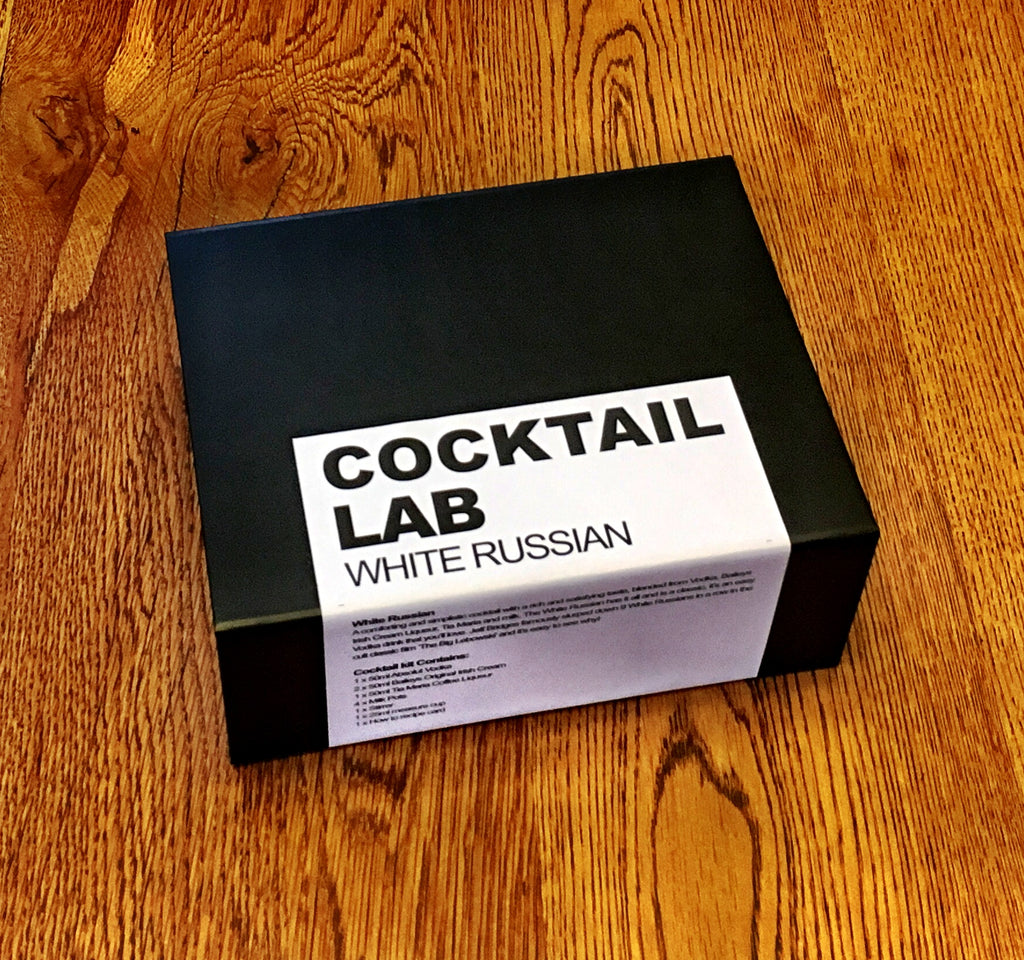 White Russian Cocktail Kit Gift Box