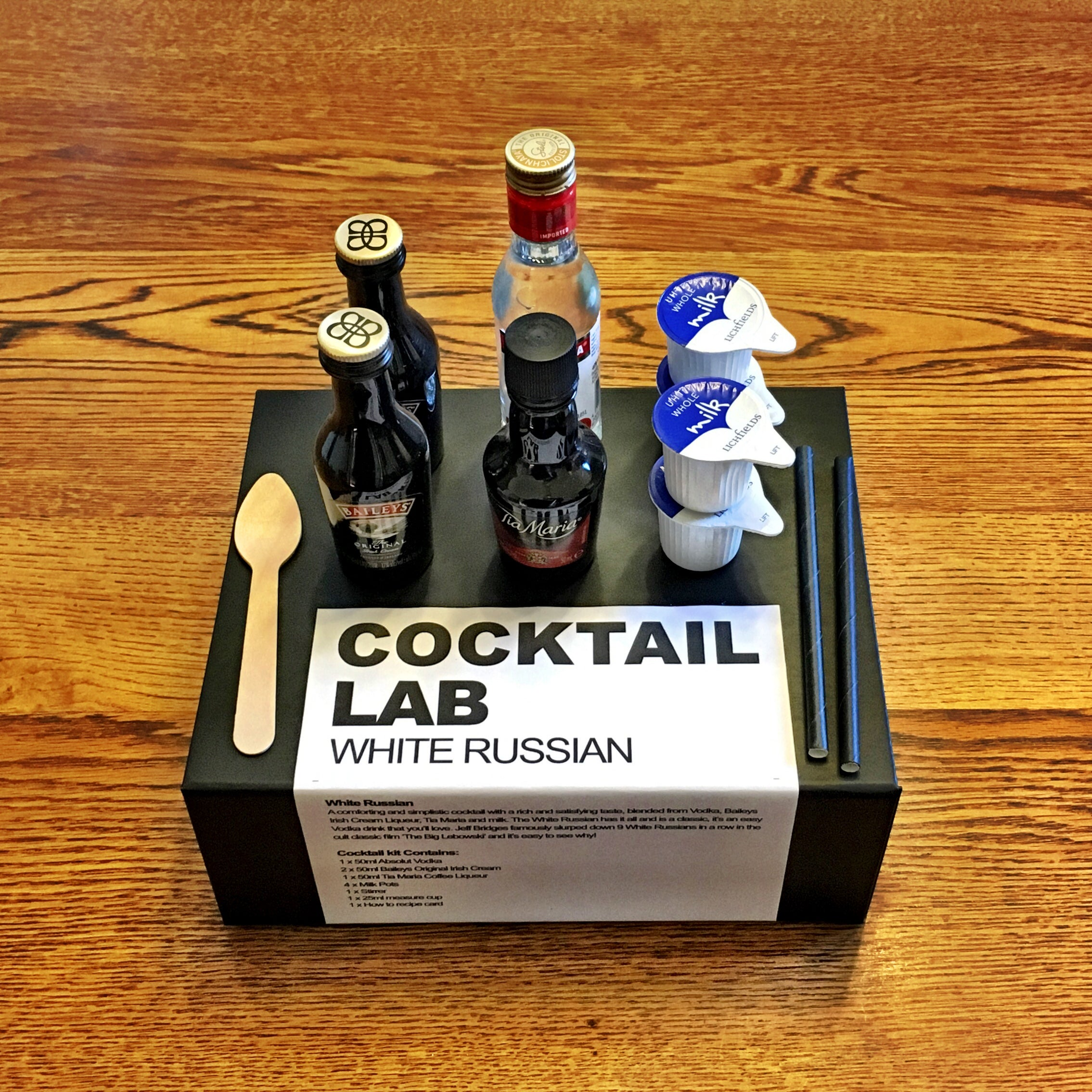 White Russian Cocktail Gift Box Kit
