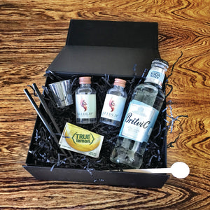 Zero Gin and Soda Cocktail Gift Box Inside