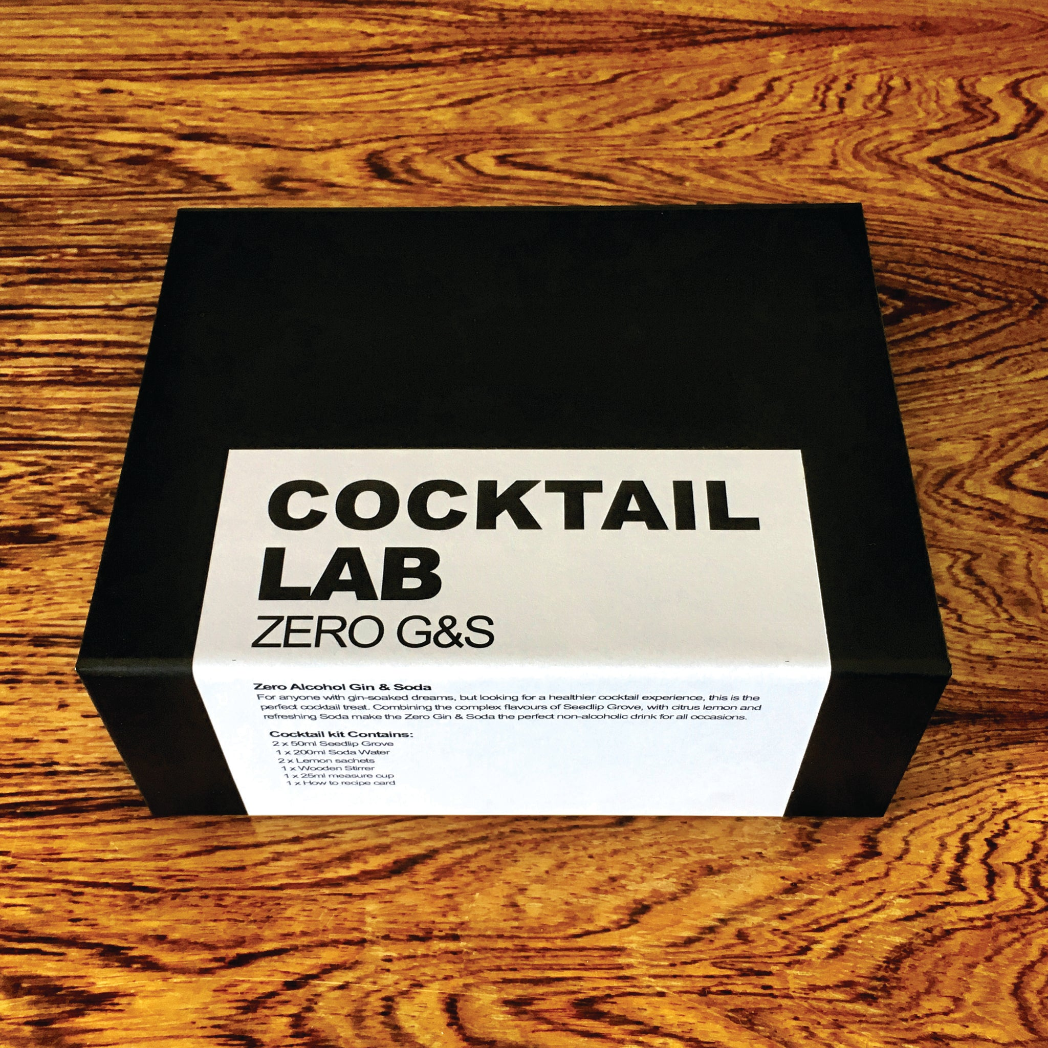 Zero Gin and Soda Cocktail Gift Box
