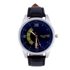 Men Band Analog Quartzsiness Wrist Watch