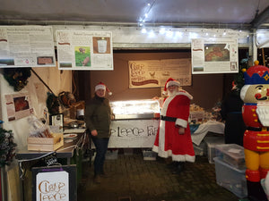 Santa tasted our award winning Manx Chorizo today at Tynwald Mills Christmas market ....and he seemed to love it!