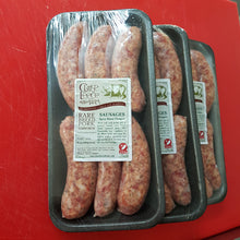 Manx Dragon Premium Rare Breed Tamworth Pork Sausages