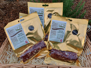 Manx Kielbasa, a fine example of British Charcuterie, a Great Taste Award winner.