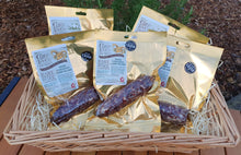 Manx Loaghtan Lamb Salami, the best of British Charcuterie, a Great Taste Award winner.