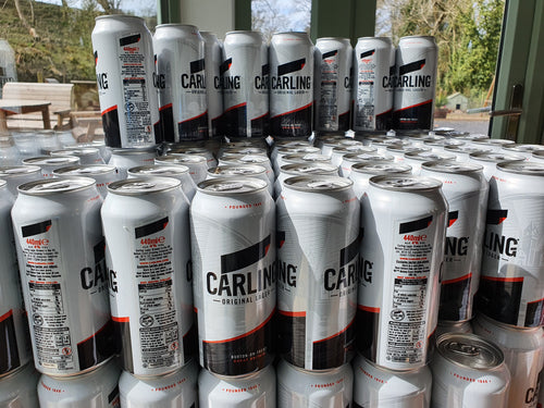 Carling cans 500ml