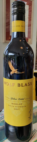 Wolf Blass Yellow Label merlot  75cl