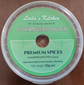 Leela's Kitchen -  Coriander Powder