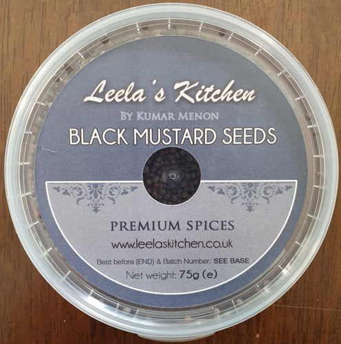 Leela's Kitchen -  Black Mustard Seeds