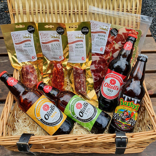 Charcuterie and Manx Ales Hamper