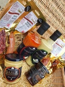 Charcuterie and Garlic Hamper