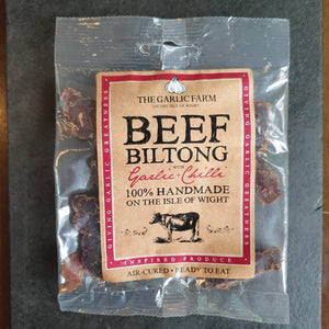 Beef Biltong with Garlic and Chilli
