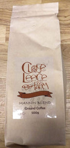 Close Leece Farm Mannin Blend ground coffee