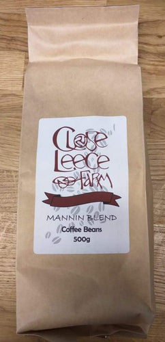 Close Leece Farm Mannin Blend coffee beans