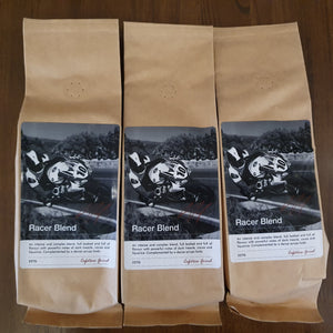 Conor Cummins Coffee Mann  Racer Blend Coffee  Cafetiere grind