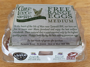 Close Leece Farm Premium Free Range Eggs - available in IOM ONLY