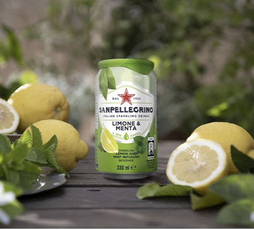 San Pellegrino - Lemon and mint