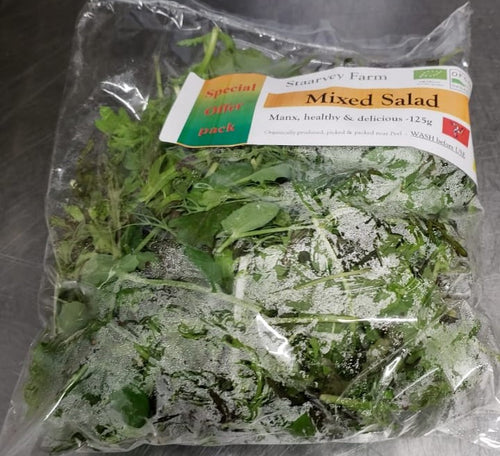 Staarvey Farms bag of Mixed Micros Salad